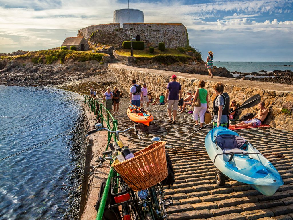 Visit Guernsey's wellness product launch by Lotus